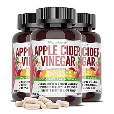 Amazon - 15% Off on Apple Cider Vinegar with Mother Capsule, Apple Cider Vinegar Supplement