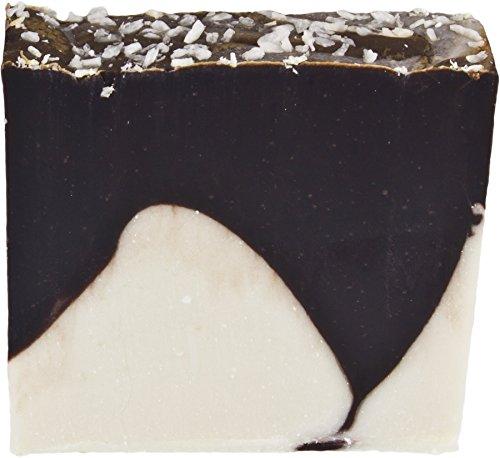 GREENDOOR handgesiedete Naturseife fest mit echter Schokolade, Seife aus Bio Ölen vegan 100g, aus der Naturkosmetik Manufaktur, natürliche milde Handseife, Schokoladenseife zum Verschenken