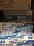 Sealapack Lot de 40 sachets de glaçons 1120 glaçons