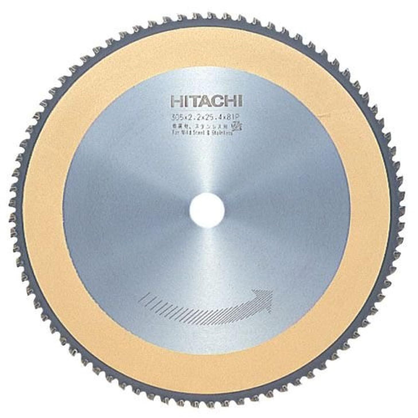 なだめるアフリカ眼HiKOKI(ハイコーキ) 旧日立工機  チップソー(軟鋼材ステンレス) 305mm×25.4 81枚 0031-6037
