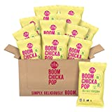 Angie's BOOMCHICKAPOP Sea Salt Popcorn, 1.25 Ounce Bag (Pack of 12)