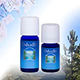 Oshadhi - Aceite esencial de menta (piperita de menta) – Refrescante, estimulante, refrigerante, 10 ml