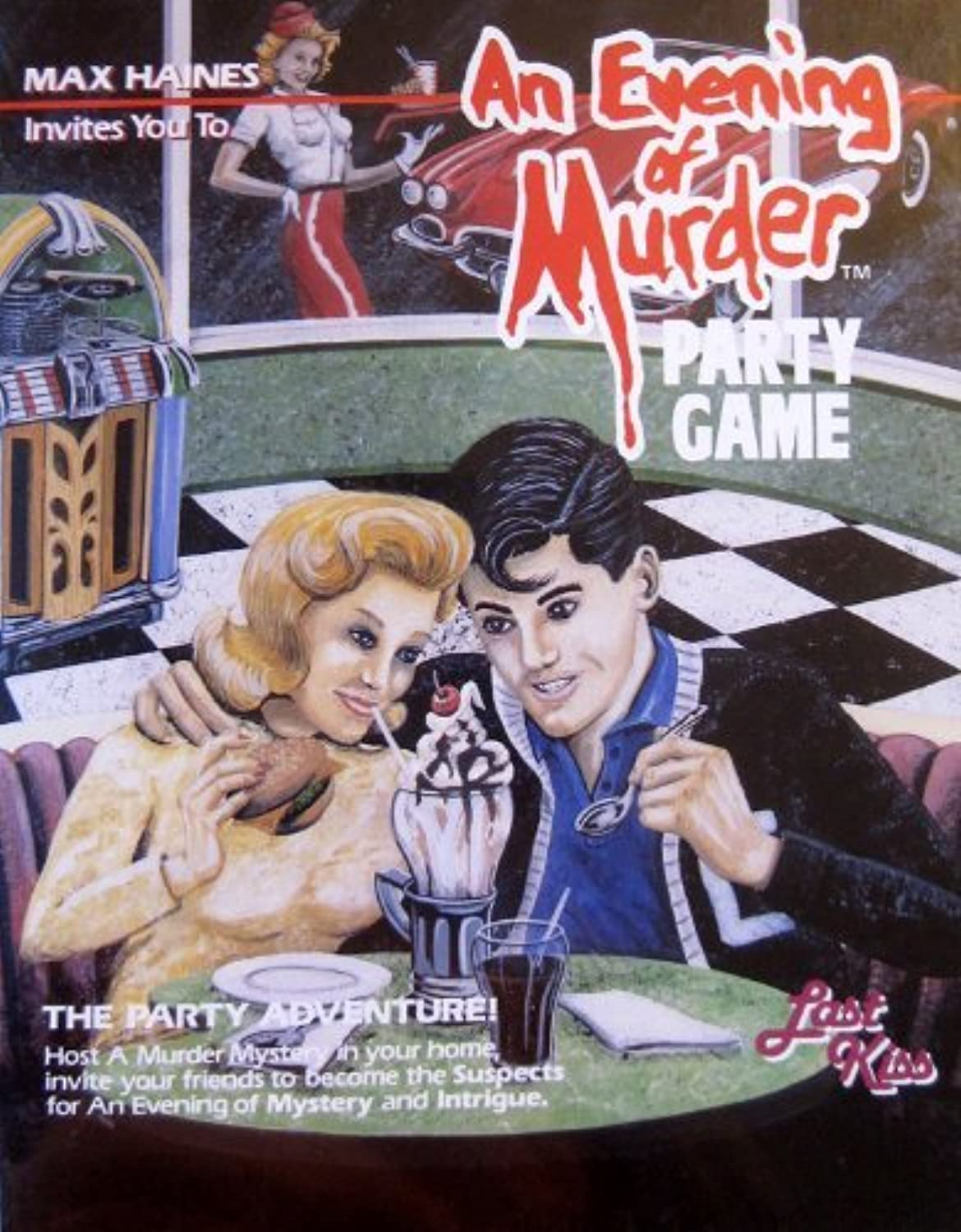 Max Haines An Evening of Murder Party Game Last kiss