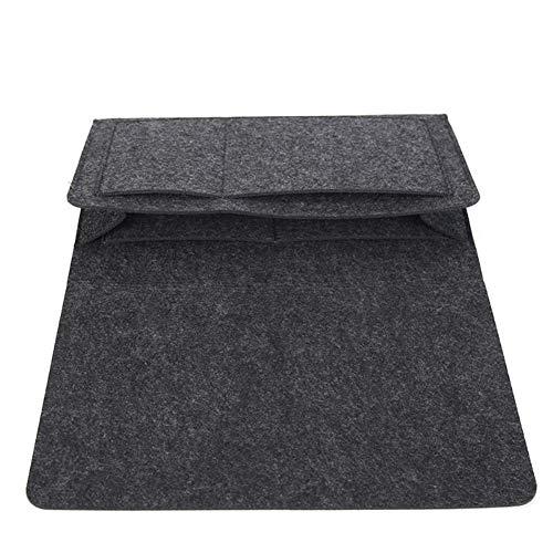 NLJYSH Bed Caddy-Speicher-Organisator Felt Bedside Tasche Sofa Schreibtisch Tasche TV-Fernbedienung Halter Wollfilz Aufbewahrungstasche Robuste und schön (Color : A)