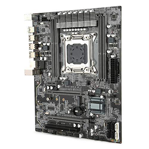 Scheda madre per PC a 8 strati PCB Scheda madre per computer desktop USB3.0 Scheda madre per computer di grandi dimensioni di lusso Compatibile con computer X79 Compatibile con SATA3.0