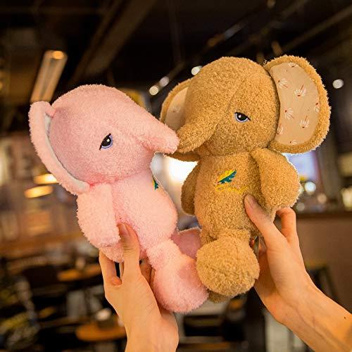 Die neuen Gummibärchen Gummibärchen Baby-Elefant Plüschtier Elefant Puppe Farbe zufällig, zufällige Farbe Gummibärchen Hase (Color : A, Size : 26CM)