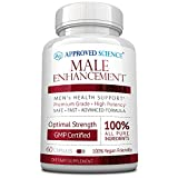 Approved Science® Male Enhancement - Boost Performance and Increase Drive - 60 Vegan Friendly Capsules (1 Bottle)