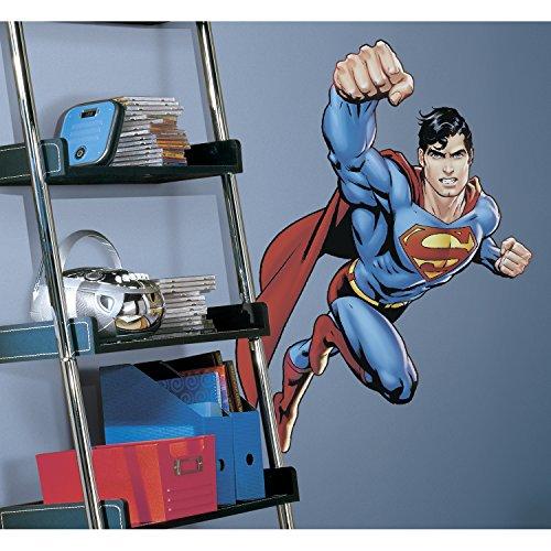 Superman: Day Of Doom Peel & Stick Giant Etiquetas de la Pared