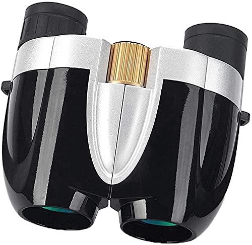 WSMKSZ Telescopio Binoculares universales para Adultos, Adultos para observación de Aves, Viajes de Senderismo y Eventos Deportivos Binoculares (Color: Blanco) (Color: Rojo)