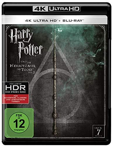 Harry Potter und die Heiligtümer des Todes Teil 2 (4K Ultra HD) (+ Blu-ray) [Francia] [Blu-ray]