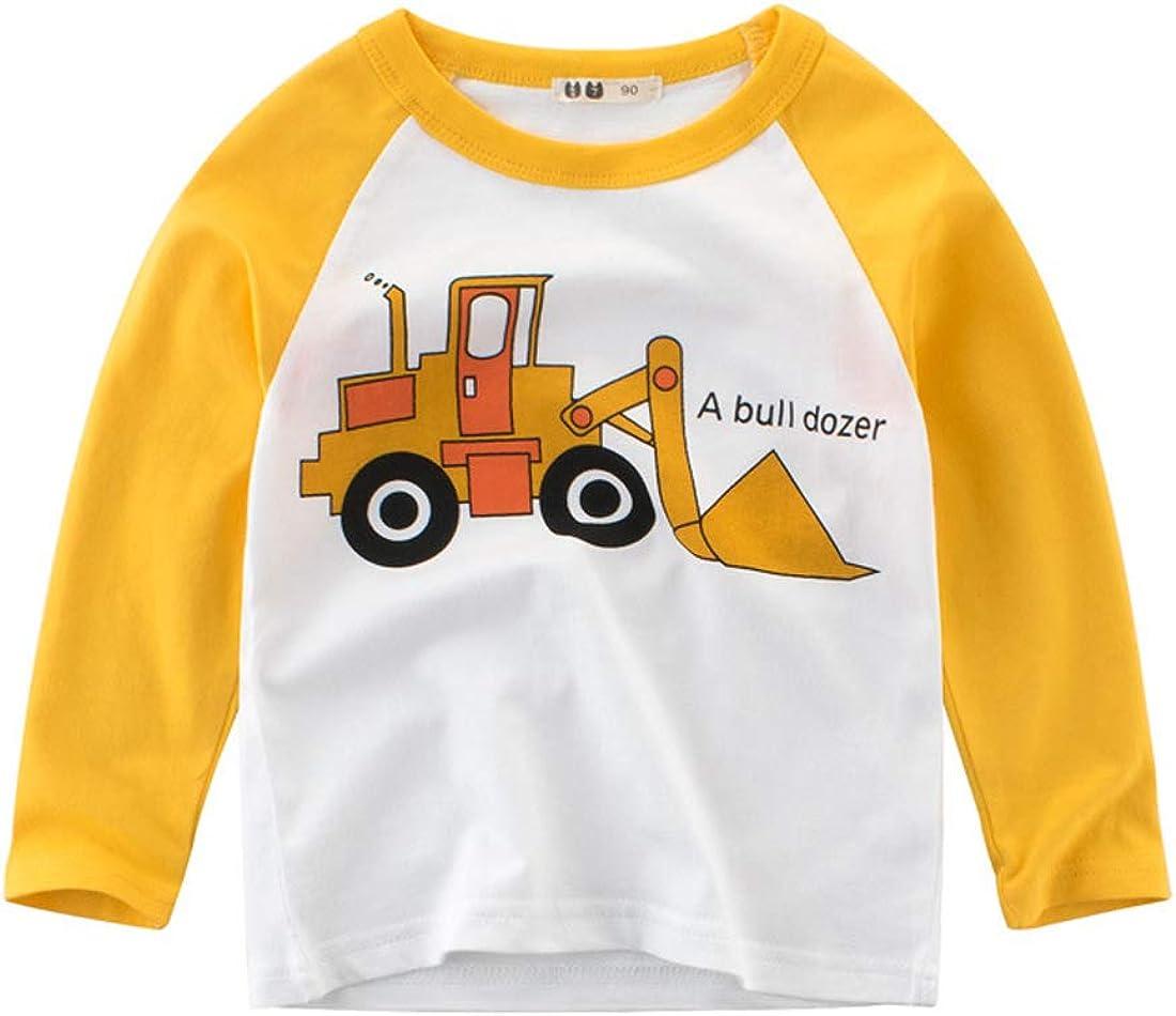 PALMFOX Boys Long Sleeve Shirts Kids Shirts Cotton