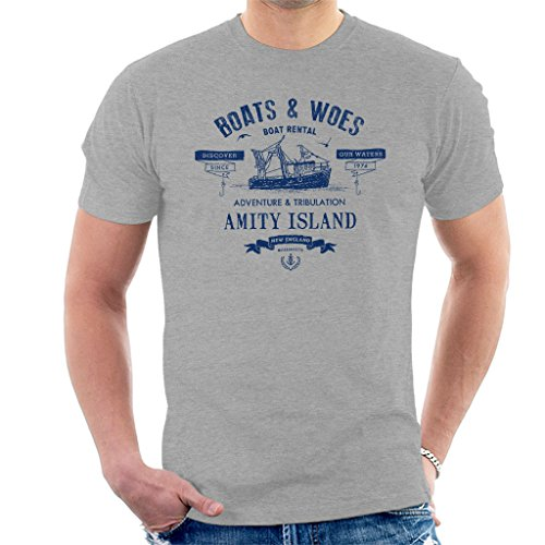 Jaws Boats and Woes Boat Hire Men's T-Shirt