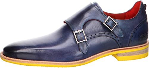 Melvin & Hamilton Herren Business Navy Monk Dave 3 blau 613040