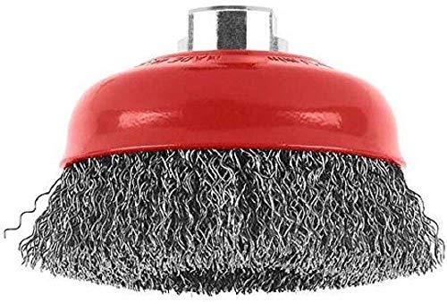 Bosch Professional Zubehör 1608614011 Topfbürste 100 mm, 0,5 mm, 8500 U/ min, 14