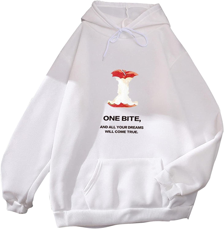 Gerichy Hoodies for Women, Womens Long Sleeve Drawstring Casual Fall Hoodies Cute Anime Plus Size Sweater Cool Hoodies