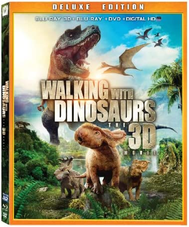 Walking With Dinosaurs Blu ray 3D DVD Combo Pack product image