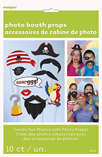 Paquete para fotos de piratas, 10 ud.