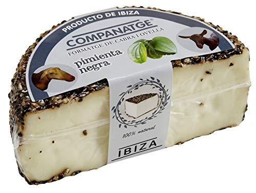 Queso de Ibiza con PIMIENTA NEGRA (medio)