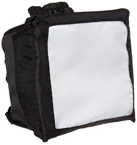 SoftBox Camera External Flash Diffuser with Pop-Up , Portable Design (3.75 Inches) by ENHANCE - Works with Altura , YONGNUO , Neewer , Canon , Nikon , Godox and more Speedlites