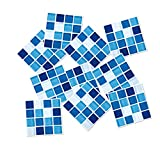 Garneck 15 Piezas pelar y Pegar Protector contra Salpicaduras Autoadhesivo Pegatinas de Mosaico de Mosaico de Cristal 3D Papel Tapiz Mural calcomanías de Pasta para el hogar Cocina baño