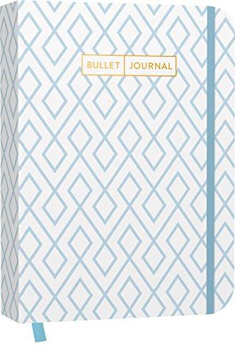 Bullet Journal: Mit Punkteraster, Seiten für Index, Key und Future Log sowie Lesebändchen, praktischem Verschlussband und Innentasche