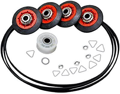 """Clothes Dryer 27"""" Maintenance Kit. Compatible with Whirlpool, Sears, Kenmore, 4392067"""