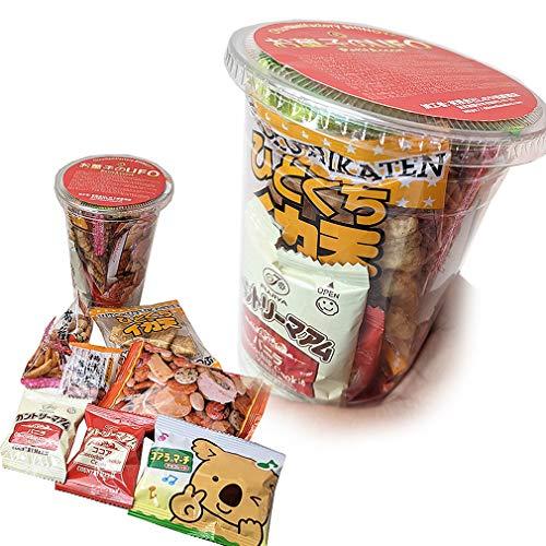 カップ入りのお菓子セット お菓子の入ったおつまみUFO 350ml缶ビールサイズ
