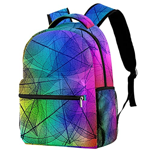 Mochila para niños y niñas, mochila preescolar personalizada para jardín de infancia, mochila ligera y hermosas hojas