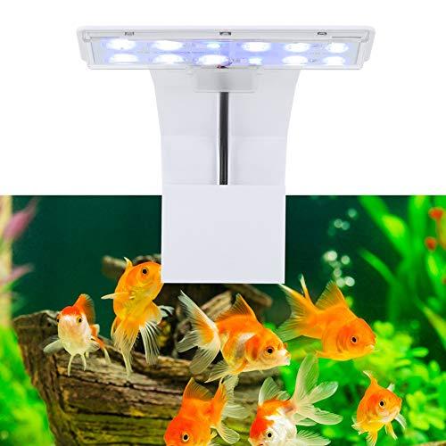 Pssopp Aquarium Beleuchtung Leuchte Clip LED Aquarium Licht Pflanzen wachsen Beleuchtung Aquarium LED Lampe Fish Tank Lights Aquarium Clip Licht Clamp Aquarium Licht für Pflanzen Süßwasser Aquarium