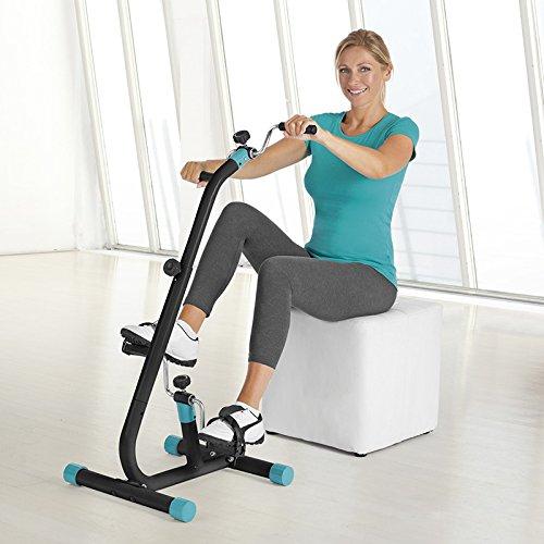 VITALmaxx Vitaltrainer Duo für aktives Muskeltraining ganz entspannt im Sitzen | An Jede Körpergrösse anpassbar, ideal auch für Senioren