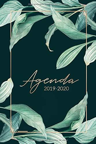 Agenda 2019 2020: Organiza tu día - Agenda semanal 15 meses - Octubre 2019 a Diciembre 2019 - Agendas Semana Vista, Calendario