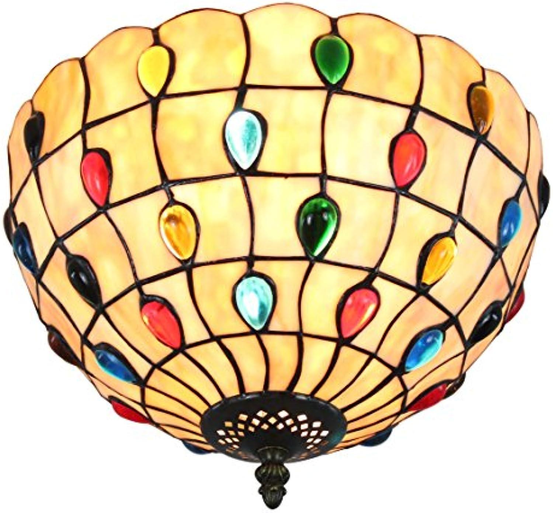 12-Inch Europisches Minimalismus Stil Perlen-Serie Errten-Einfassung Deckenleuchte Flur Licht