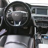 Housse HLZDH en coton pour volant, frein à main et levier de vitesses - En peluche - 40cm