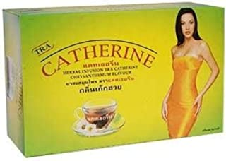 32 BAGS CATHERINE THAI NATURAL HERBAL INFUSION CHRYSANTHEMUM FLAVOUR, DETOX, SLIMMING,WEIGHT LOSS - BEST PRODUCT FROM THAI...
