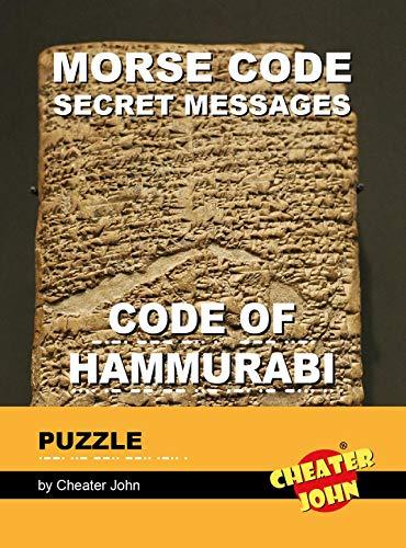 Morse Code Secret Messages Puzzle: Code of Hammurabi (Morse Code Puzzles) (English Edition)