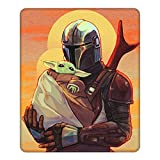 Mouse Pad Gaming Non-Slip Rubber Mousepad, Working or Game 8.6 x 7inch Mouse Mat