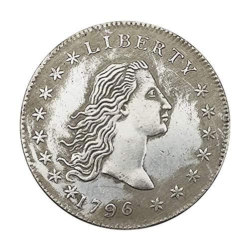 Ccyyy Blanco Cobre y Monedas de Plata colección, Estados Unidos 1796