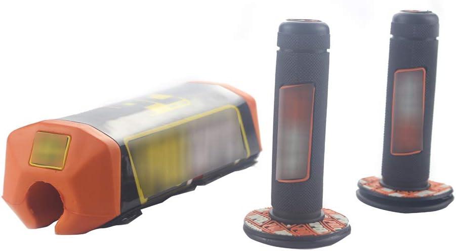 Motorcycle Handlebar Pad Grips Dirt Bike Pillow Top Set Square Fat Bar Cheat Pad 7//8 22mm 1 1//8 28mm Handle Handlebars Universal For EXC EXCF XC XCF XCW XCFW SX SXF 200 250 300 Motocross UTV ATV UTV
