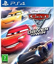 Disney Cars 3 Driven to Win, racing game for Playstation 4, Blueray disc