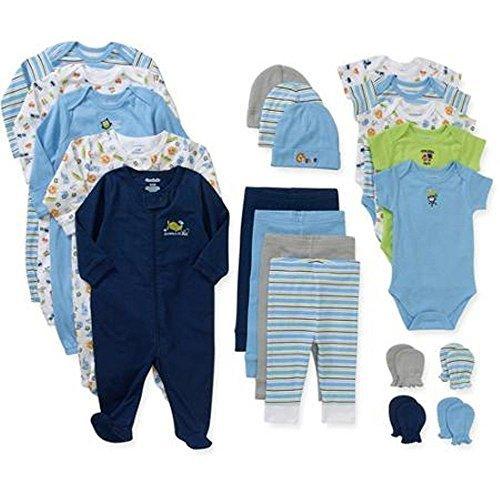 Garanimals - Juego de 21 piezas para recién nacido (3-6 meses), modelo
