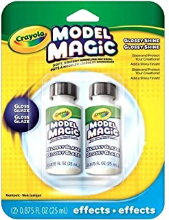 Crayola Model Magic Glossy Glaze, Double Pack (2-Pack)