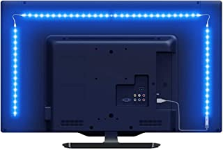 LE LED Strip Lights for TV, 6.56Ft RGB Color Changing TV Backlights with Remote, USB Powered Bias...
