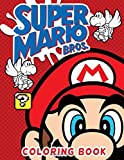 Super Mario Bros Coloring Book: Perfect Gift Super Mario Bros Coloring Books For Kid And Adult Perfectly Portable Pages