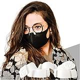 Misty - Lot de 5 - Empêche la buée sur les lunettes - Maintient du masque - Fabriqué en Normandie (Blanc)