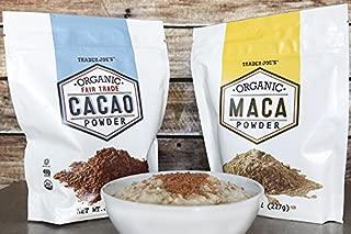 Trader Joe's Organic Maca Powder + Trader Joe's Organic Cacao Powder