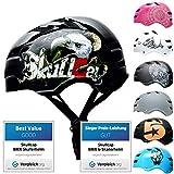 SkullCap® Casco de Skate y BMX - Bicicleta Y Scooter Eléctrico, Diseño: Eagle, Talla: M (55-58 cm)