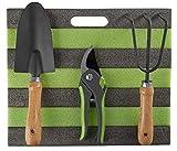 Grouw - Gartenwerkzeug - für die Gartenpflege - 4 teilig aus Holz und Metall