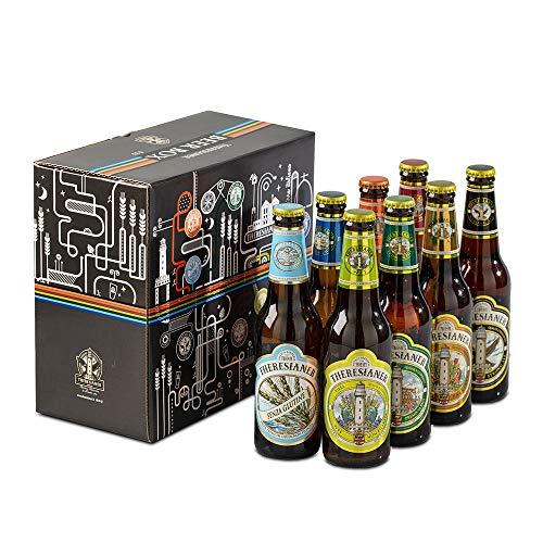 Beer Box Theresianer 8 bottiglie confezione degustazione o regalo birra 0.33l