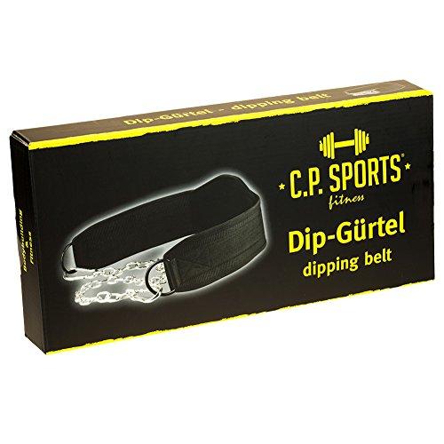 C.P. Sports Trainings Dip Gürtel, Schwarz, One size, 38755 - 5