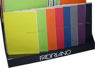 Fabriano Ecoqua Dot Notebook, Wine Dot, 8-1/4 x 11-7/10